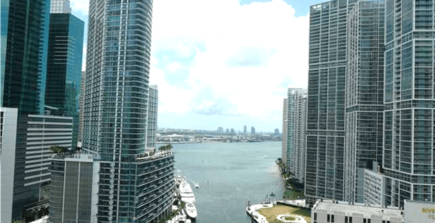 Brickell on the River unit# 2508-N.  Brickell