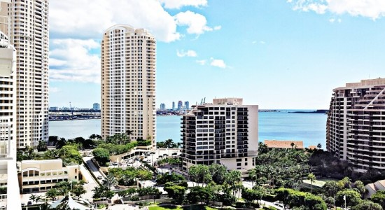 Courts unit# 1705.  Brickell Key