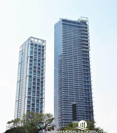 10 Museum Park and Marquis Residences side by side