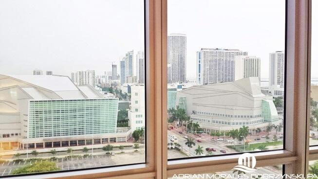 Adrienne Arsht Center and Opera House seen from Marquis