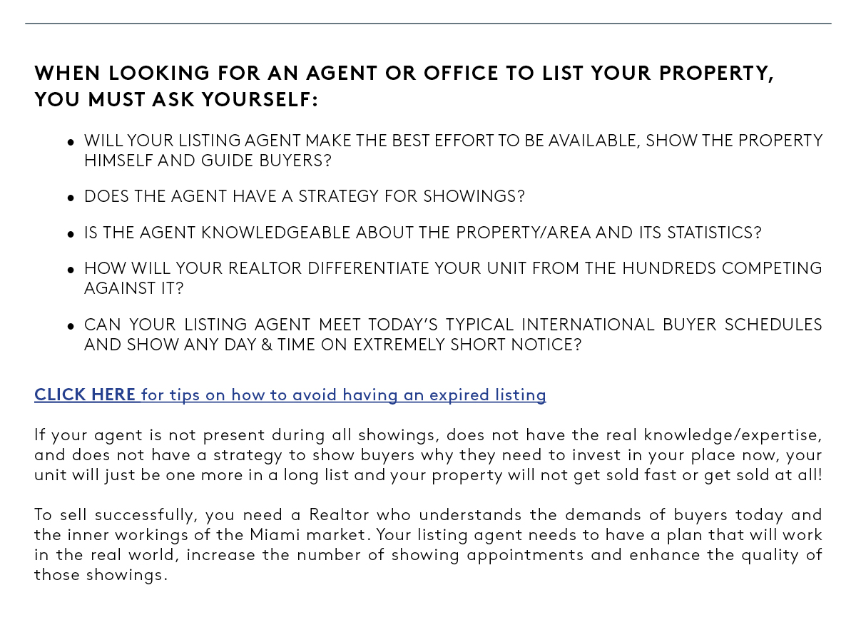 Why List Property with Me - BOTTOM PART FOR ALL