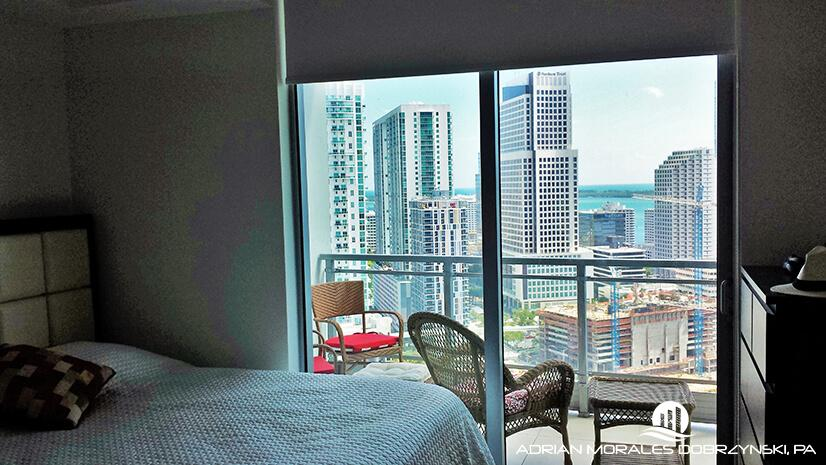Ivy 1 bedroom unit overlooking Brickell City Centre