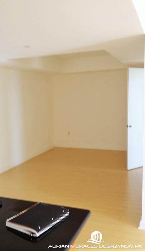 Huge den at 50 Biscayne can be a third bedroom