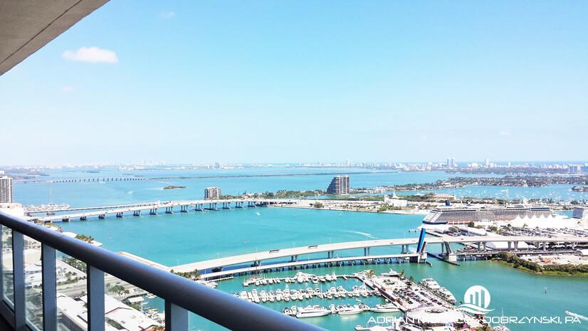 50 Biscayne water views of Bayside marina