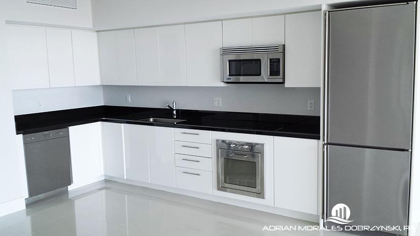 Kitchen of 1 bedroom unit at Mint