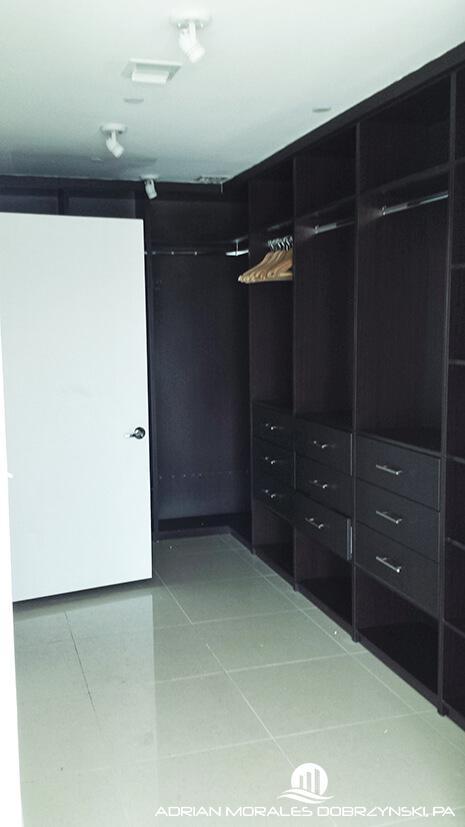 Walk-in closet at 900 Biscayne