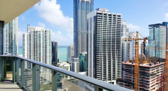 Brickell Heights unit# 3105-East.  Brickell